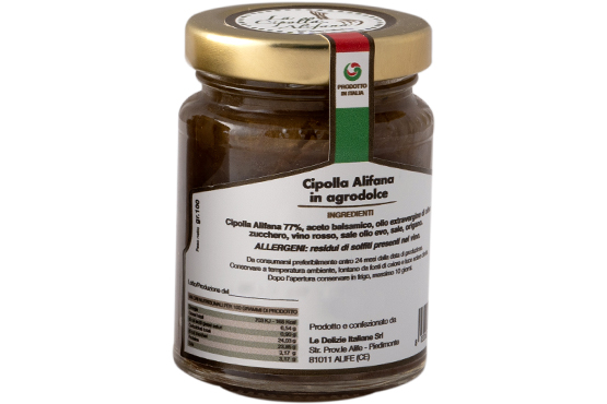 Cipolla Alifana in agrodolce